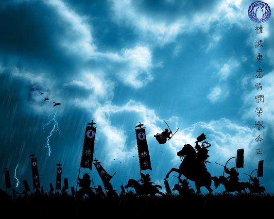 Download 1280x1024 fight, soldiers, hieroglyphs, horses, blue, black Wallpaper Fullscreen WallpapeprsCraft