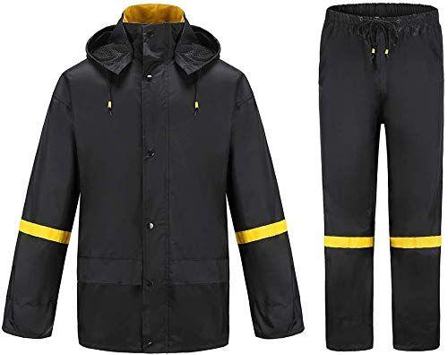 Best Seller Ourcan Rain Suits Men Fishing Rain Gear Men Waterproof  Lightweight Rain Coats Men Waterproof Hood Pants online -  Trendyclothingonline | Men's coats and jackets, Mens raincoat, Mens coats