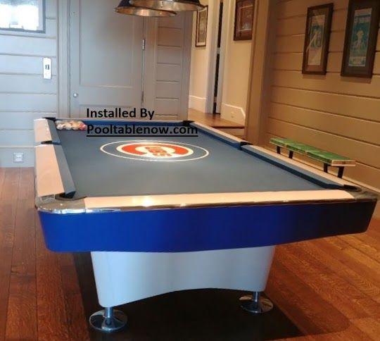 Brunswick Gold Crown Billiards Refurbished Cubs Pool Table Room Pool Table Billiards