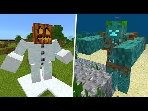 New Mobs In Minecraft Pocket Edition Mutant Creatures Addon