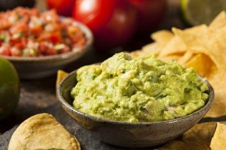 #recette de la sauce guacamole mexicaine aux épices, rapide, facile et délicieuse !