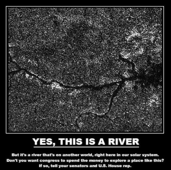 Extraterrestrial River on Titan - Imgur