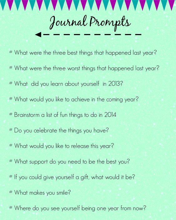 Sample Personal Journal