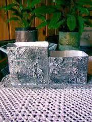 Resultado de imagem para como forrar uma lata com tecido