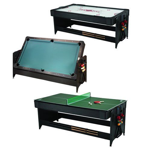 High Quality Fat Cat Original 3 In 1, 7 Foot Pockey Game Table (Billiards, Air Hockey  And Table Tennis) | Multi Game Table | Pinterest | Game Tables, Hockey And  Tennis