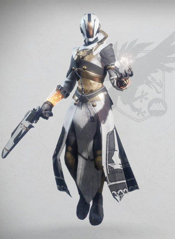 Destiny 2 Female Warlock Armor