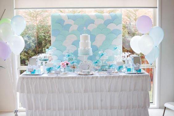Mermaid Under the Sea Girl Birthday Party Planning Ideas