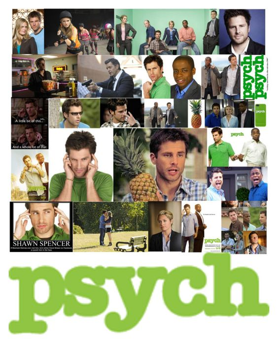 """""""Psych"""" by bibby1590 ❤ liked on Polyvore featuring art"""