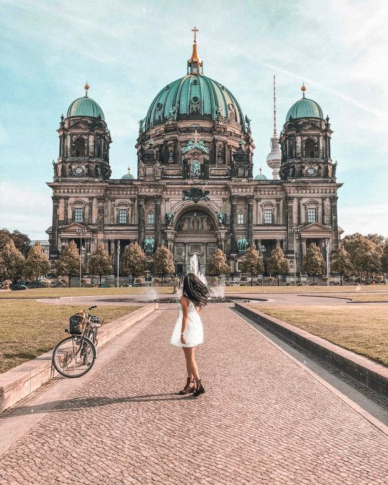 Best Instagram Spots in Berlin, Germany * Instagrammable places in Berlin * Berliner Dom * Travel Guide Berlin