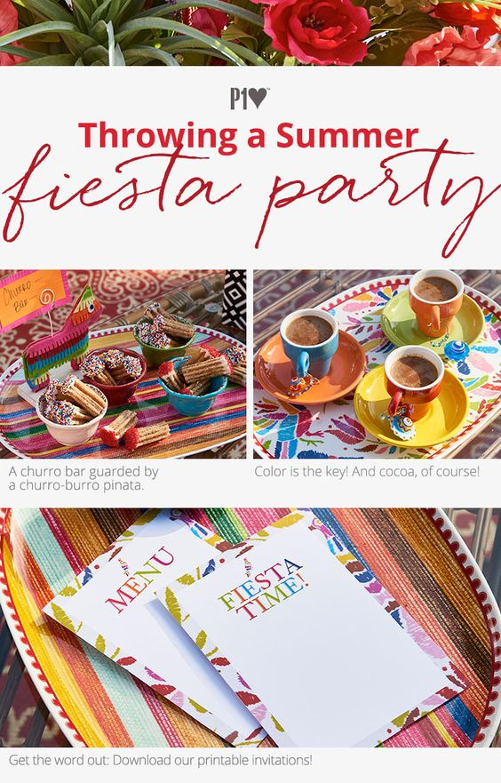 Throwing a Summer Fiesta Party!