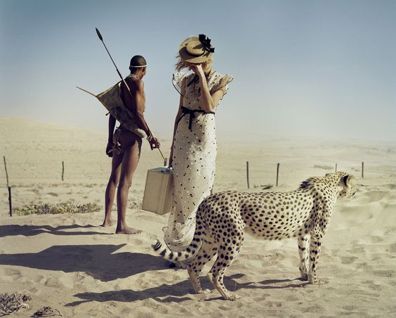 "<div class=""artist""><strong>Tim Walker</strong></div><div class=""title_and_year""><em>Agyness Deyn, Simon and Kiki in sandstorm, Kolmanskop, Namibia </em>, 2011</div><div class=""medium"">Archival pigment print on Harman gloss</div><div class=""dimensions"">51 x 63 cm</div><div class=""edition_details"">Edition of 10</div>"