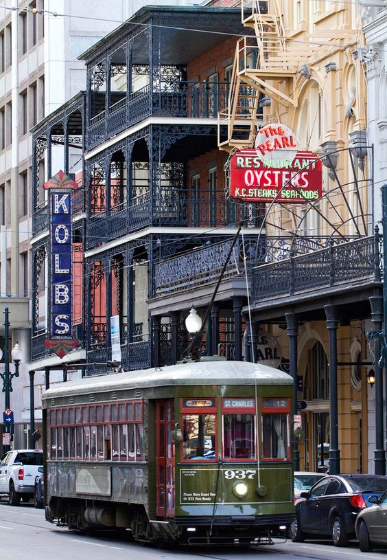 Streetcars are the perfect way to get around New Orleans: