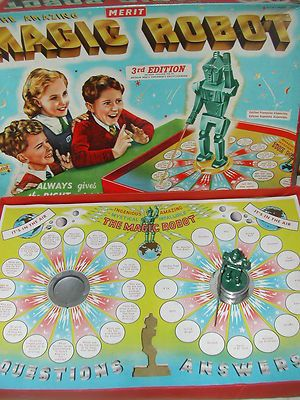 Magic Robot Game My friend had this and we used to play it at her birthday parties :-)