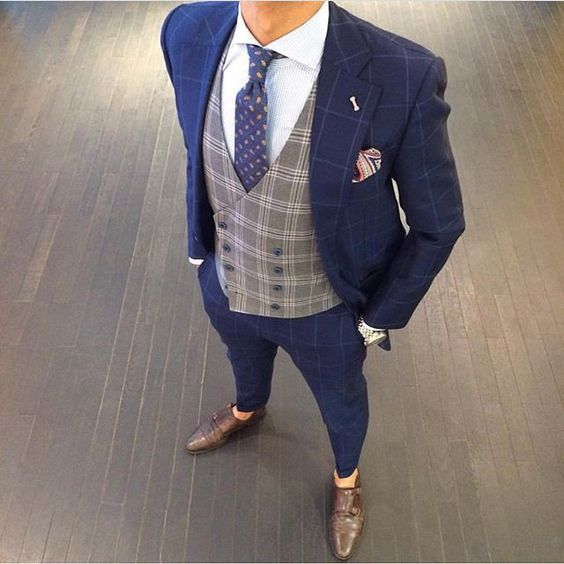 Suit combination for men