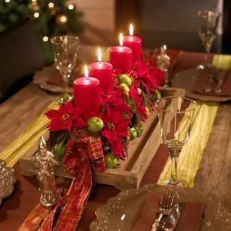 BLOG DE DECORAÇÃO-PUXE A CADEIRA E SENTE! : Decorando a mesa da Ceia de Natal:
