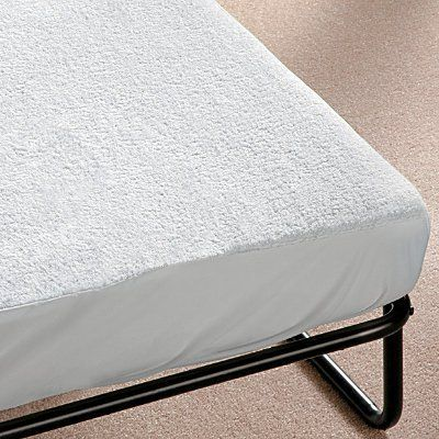 "Sofa Bed Mattress Cover - Full - Improvements by Improvements. $79.99. Transform your sofa bed into a comfortable place to sleep. Give your guests a great night's sleep with this patented sofa bed mattress cover. Water-resistant, air-circulating weave keeps sleepers cooler in summer, warmer in winter. Terry cloth cover. Flame-retardant. Twin: 75""L x 30""W. Full: 67""L x 51""W. Queen: 72""L x 60""W. Made in the USA. The Twin Sofa Bed Mattress Cover is custom-made to fi..."