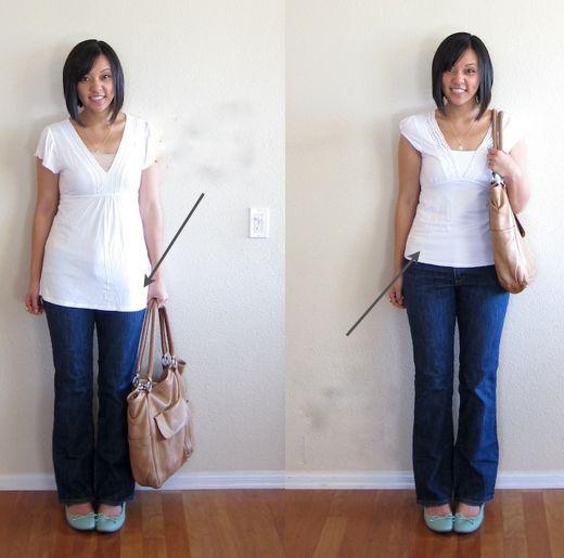 Algumas dicas para você colocar mais estilo em seu look!  1- Proporções No look abaixo, bem básico, na...