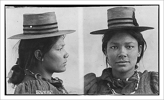 Year old, Native american women and Mug shots on Pinterest