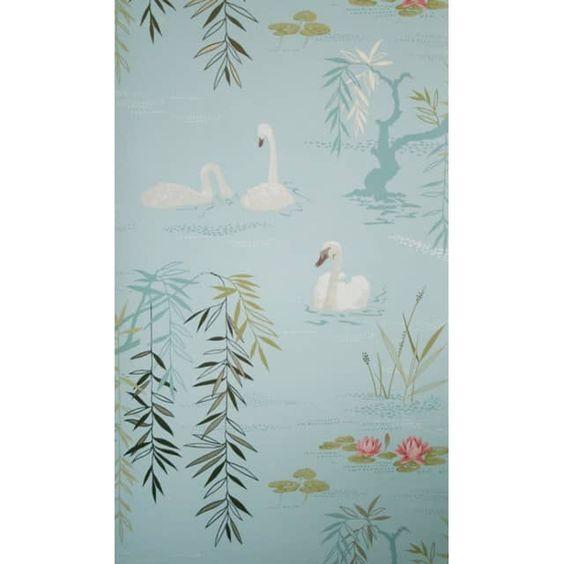 Tapete Swan Lake - Designtapete von Osborne & Little - Meine Wand