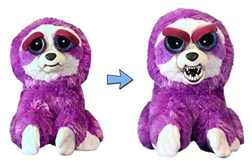 Feisty Pets Plush Purple Sloth Lightningbolt Lucy In 2020 Plush Stuffed Animals Animated Animals Plush Animals