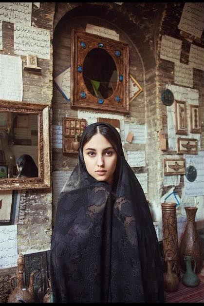 Mihaela Noroc en un viaje para mostrar al mundo la belleza infinita de personas. Atlas de la belleza / Shiraz, Irán