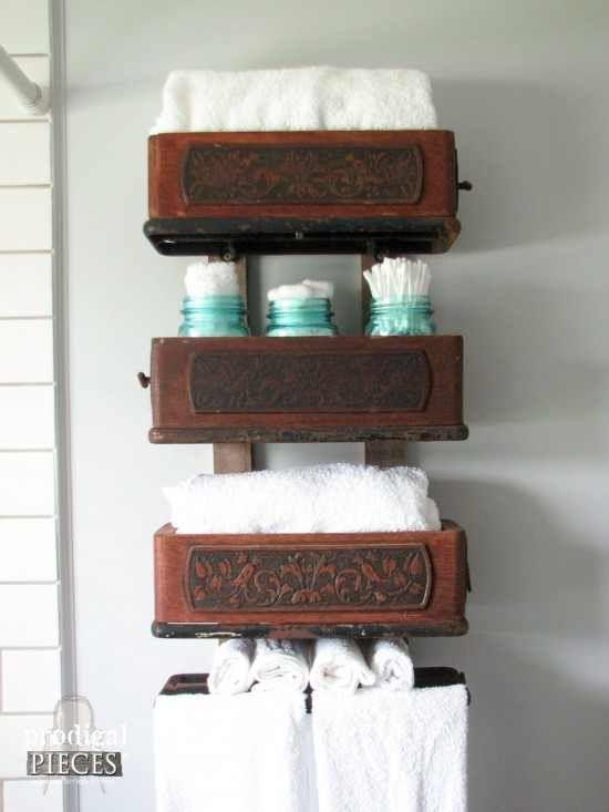 Diy farmhouse style bathroom remodel by prodigal pieces www - Boys Drawers And Season 2 On Pinterest
