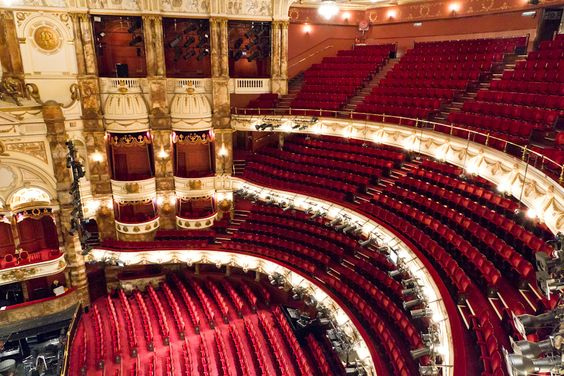 The Coliseum is the largest theater in London & home to the English National Opera (ENO)
