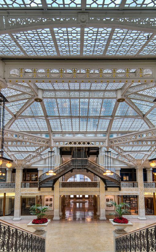 The Rookery Building | Travel | Vacation Ideas | Road Trip | Places to Visit | Chicago | IL | Business | Scenic Point | Historic Site | Art Gallery | Other Historical | Architectural Site