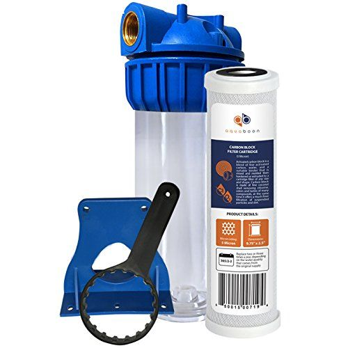 Aquaboon Universal 10 Water Filtration System Water Filters System Whole House Water Filter