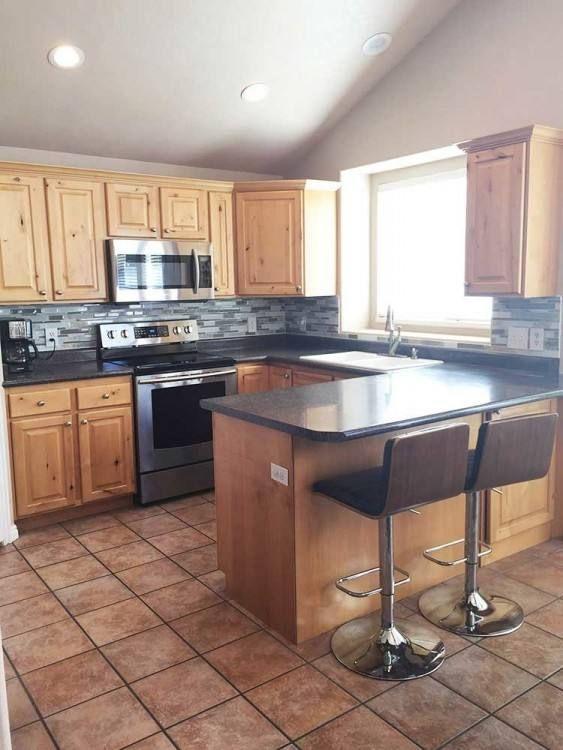 The Hollister 3800 Kitchen Built In Weber County Utah Kitchen Cabinet Remodel Kitchen Dining Living Kitchen