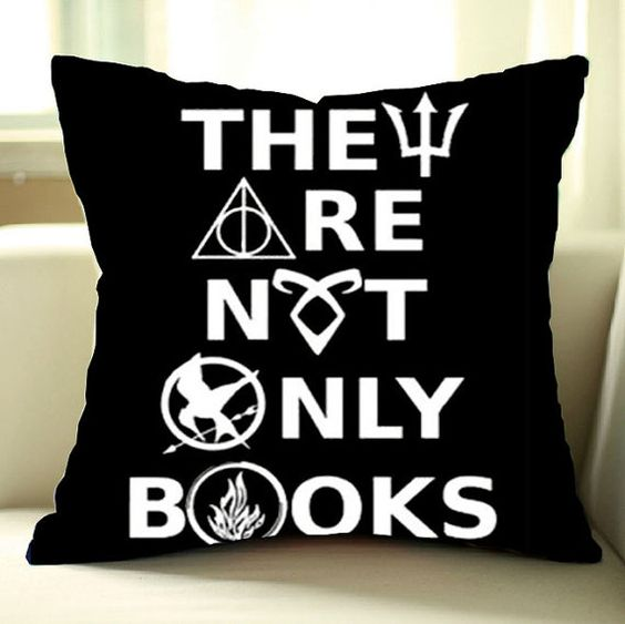 Harry Potter Book Cover Fabric ~ Pillows percy jackson and pillow covers on pinterest