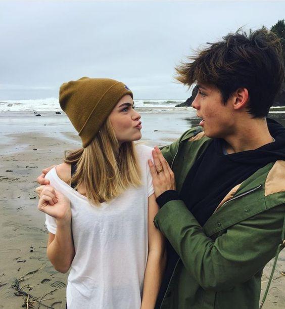 Dylan Jordan and Summer Mckeen.                       pinterest//franaguilera162