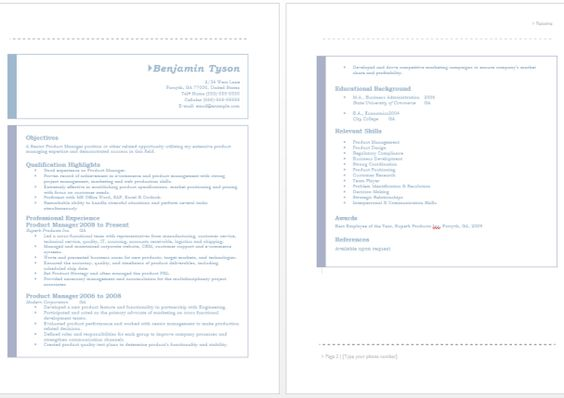Product Manager Resume resume Pinterest Sample resume - commercial finance manager sample resume