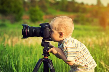 Teaching Children To Take Pictures