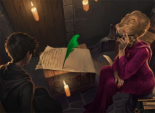 We love Rita Skeeter and her Quick-Quotes Quill from the Enhanced Edition of #HarryPotter. iTunes.com/HarryPotter
