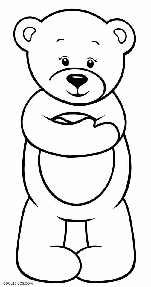 Teddy Bear Coloring Pages In 2020 Bear Coloring Pages Teddy