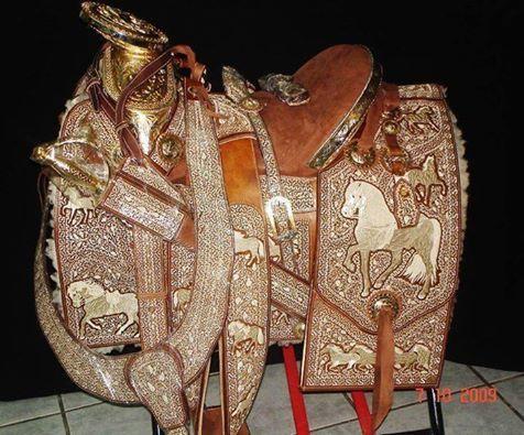 Silla de montar piteada artesania mexicana monturas de for Monturas para caballos
