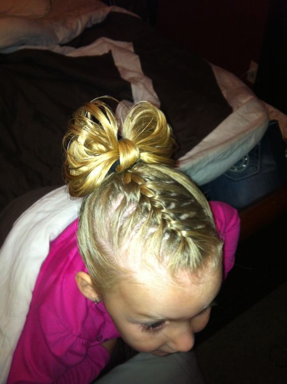 Braid with a bow!