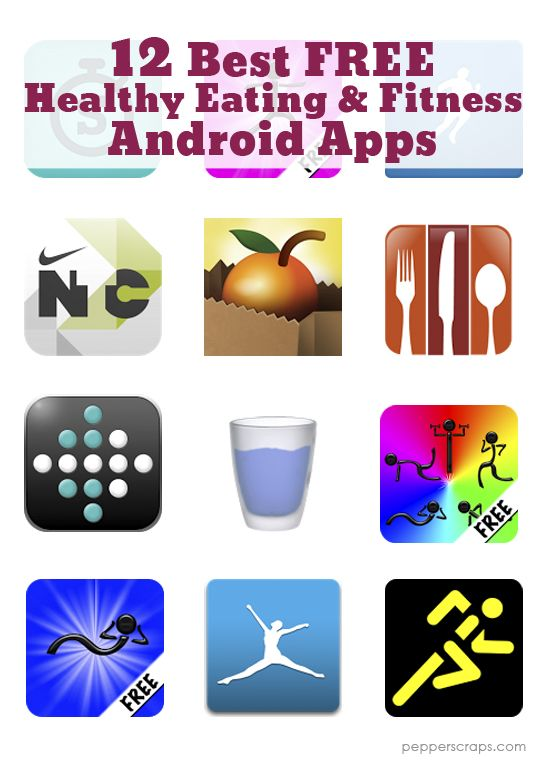 12 Best Free Healthy Eating And Fitness Android Apps Android Apps Free Workout Apps Workout Apps