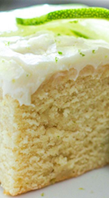 Fresh Key Lime Cake