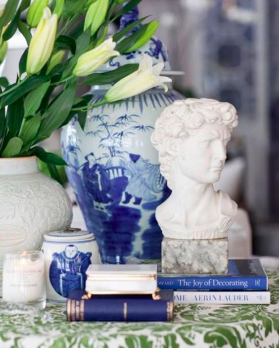 Exploring the Blue and White Interiors of Australia's Verandah House – Blue and White Home