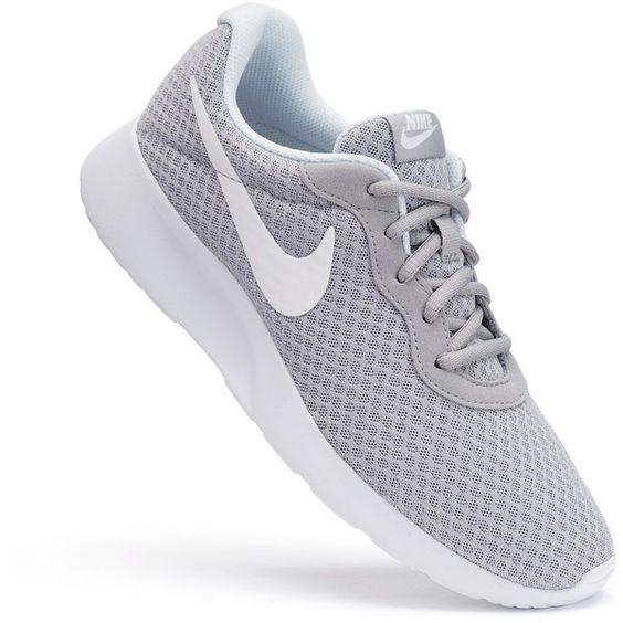 Grey Nike Tanjuns Shoes