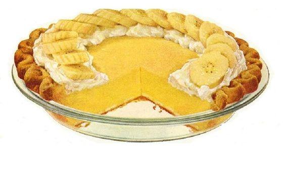 Granny's Banana Cream Pie
