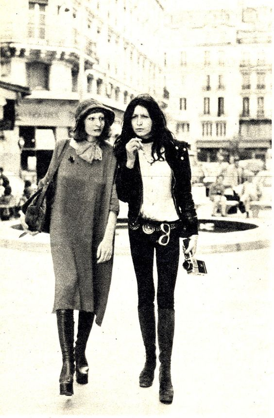 Vintage street styling