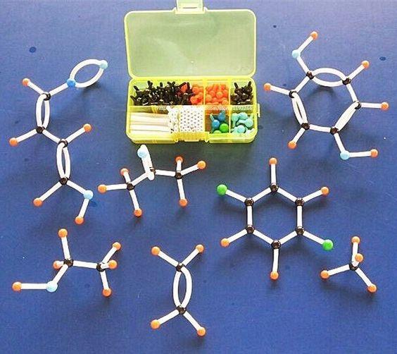 Aliexpress.com: Compre Mini kit modelo Molecular química orgânica Molecular pequeno tubo pequeno tubo para estudantes 143 pçs/set portátil modelos de confiança kit sigma fornecedores em downloadsen's store