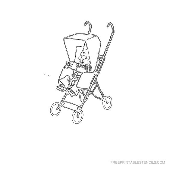 Free Printable Baby Stencil S