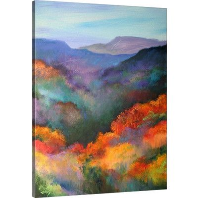 Great Big Canvas The Hills Are Alive by Jonas Gerard Painting Print on Canvas