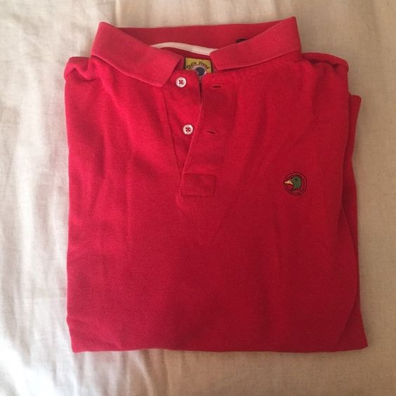 Duck Head Men's polo Men's polo size XL, very gently used and in great condition! Duck Head Tops