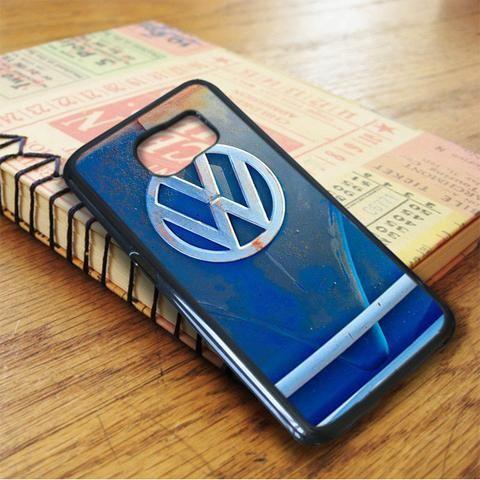 Volkswagen Vw Bus Front Emblem Jill Reger Samsung Galaxy S7 Case