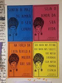 Estúdio Sinestesia | #fridafeminista